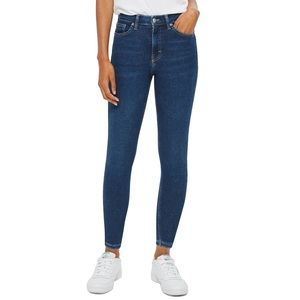 Topshop Jamie Moto high Waisted Jeans